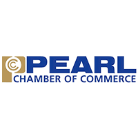 Pearl Chamber of Commerce logo.