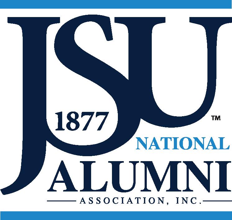 Jackson State University logo.
